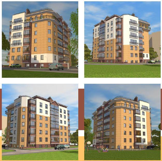 BIM-проект: многоквартирный жилой дом, г. Киров