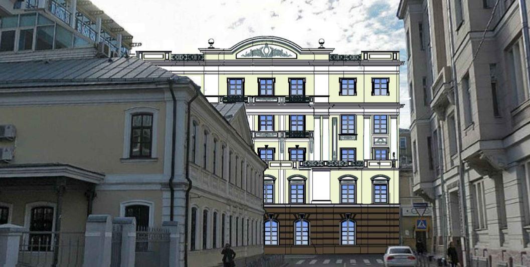 Визуализация административно-офисного здания