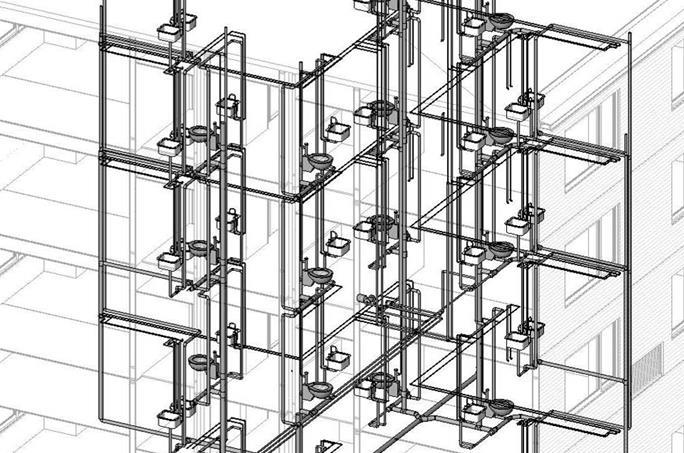 Вентиляция бытовой и производственной сетей канализации предусматривается через вентиляционные стояки, вытяжная часть которых выводится на кровлю