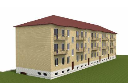 BIM-проект  «Малоэтажный гостиничный комплекс по ул. Рудницкого, 54-б в г. Кирове» относится к объектам непроизводственного значения