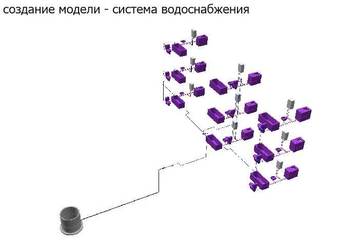 Внутренние сети бытовой канализации запроектированы для отведения стоков от санприборов туалета, мойки, ванной
